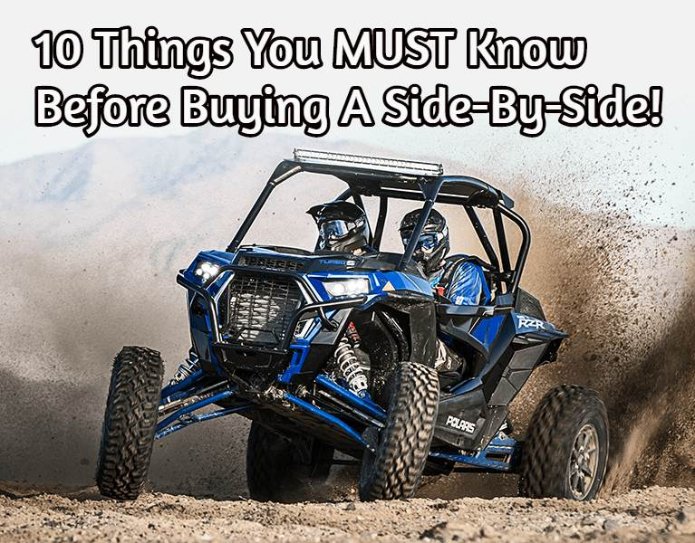 Best Side By Side Atv >> 10 Things You Must Know Before Buying A Side By Side Atv Temple